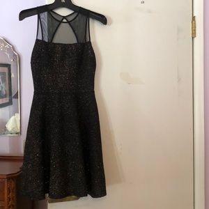 Aqua worn once sparkly dress